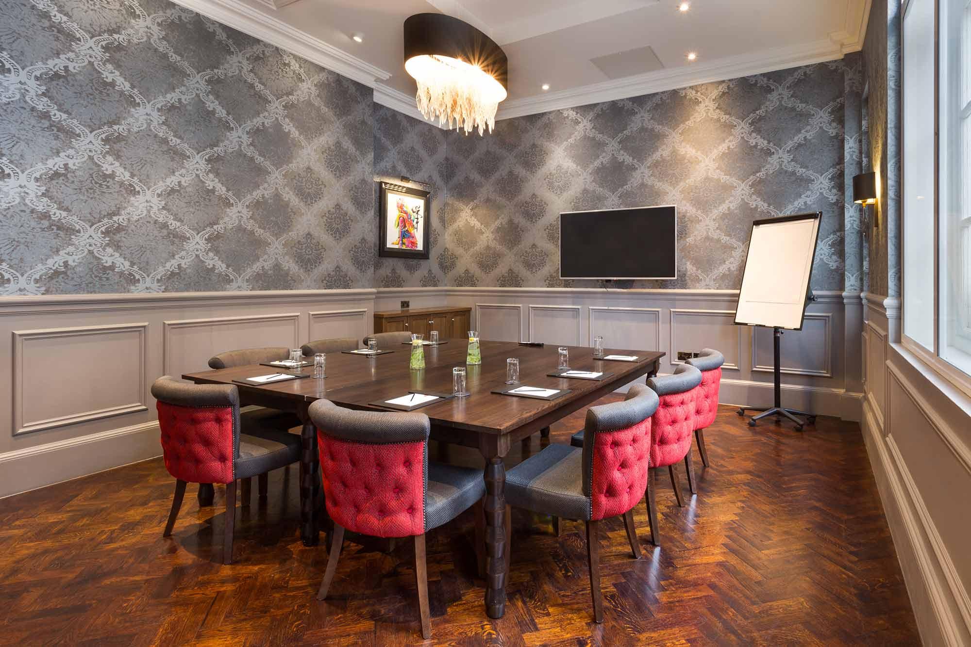 Luxury london meeting room