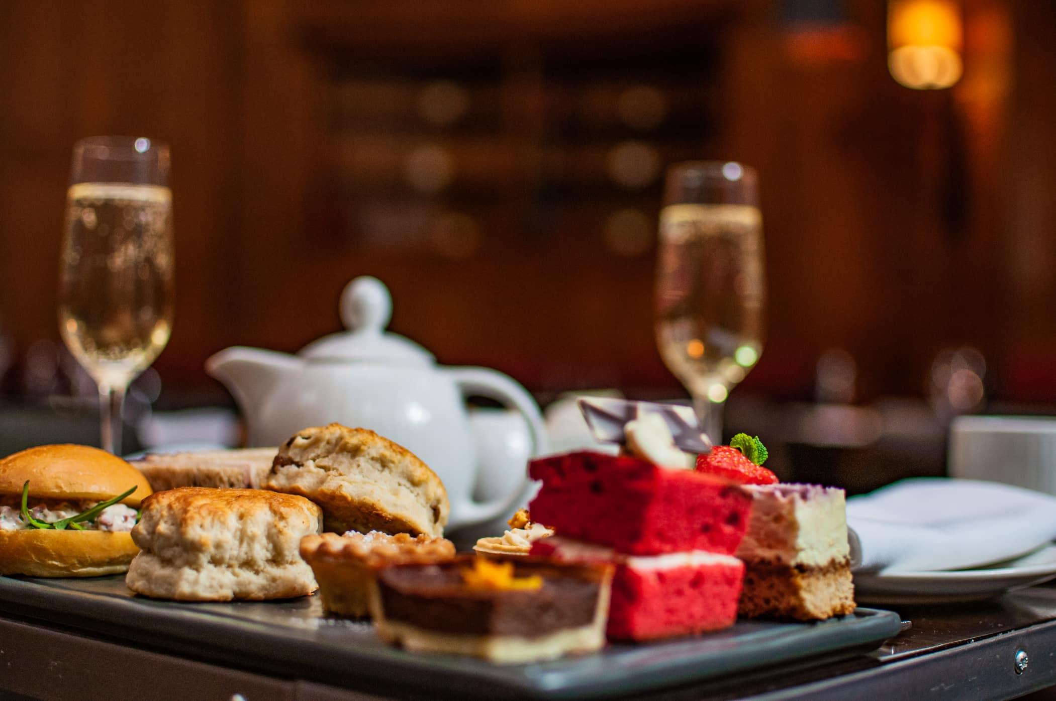 Luxury London afternoon tea